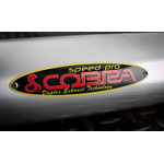 SPEEDPRO COBRA 3 D  Black-red-yellow Nameplate mit...
