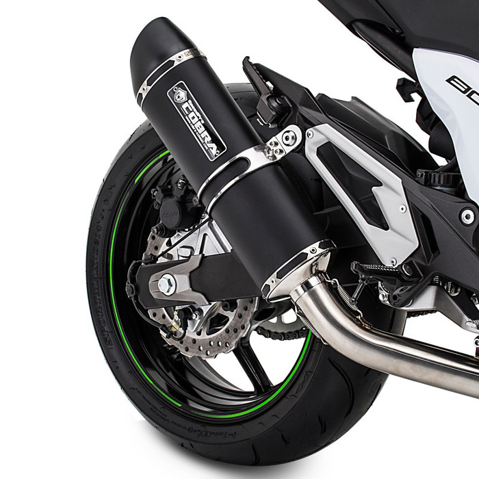 SPEEDPRO COBRA SC3 Black Series Supershort Slip-on HIGH UP mit EG-ABE Yamaha YZF-R1