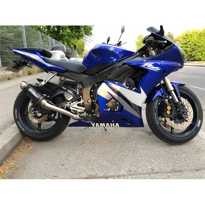 SPEEDPRO COBRA SP2 Slip-on mit EG-ABE Yamaha YZF-R6 + S