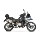 SPEEDPRO COBRA RX77 Slip-on mit EG-ABE BMW F 750 GS / F...