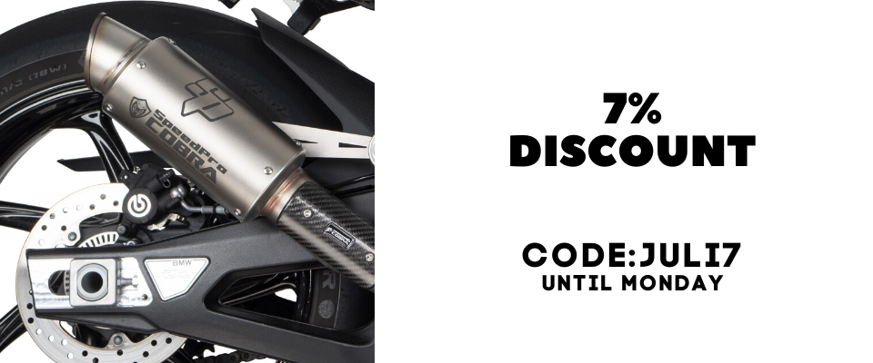 7% DISCOUNT UNTIL MONDAY CODE: JULI7